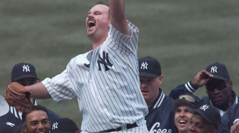 David Wells threw a perfect game against the