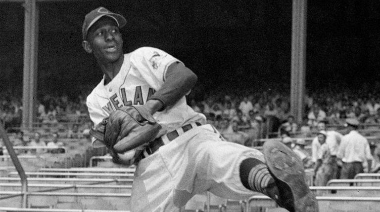 Cleveland Indians pitcher Leroy
