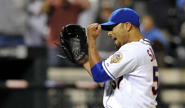 Johan Santana threw the first no-hitter in New