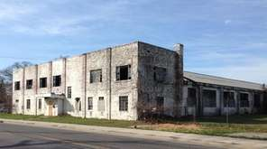 The proposed location for a microbrewery incubator in
