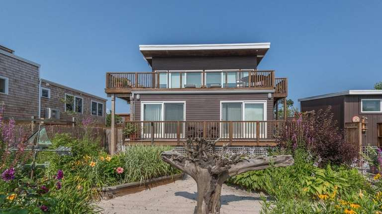 This three-bedroom home in Ocean Beach comes with