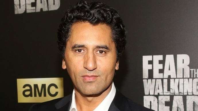 Cliff Curtis at the season 2 premiere of