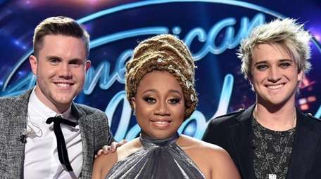 Trent Harmon, La'Porsha Renae and Dalton Rapattoni are