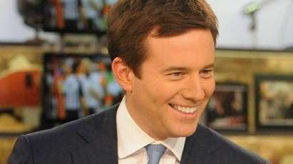 Jeff Glor, shown when he was a special