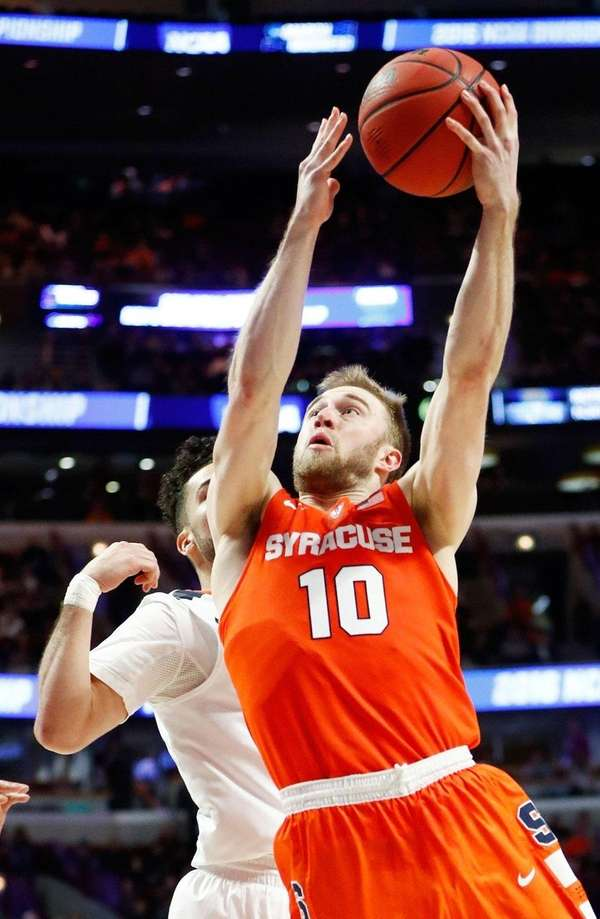 Syracuse's Trevor Cooney, here making a layup