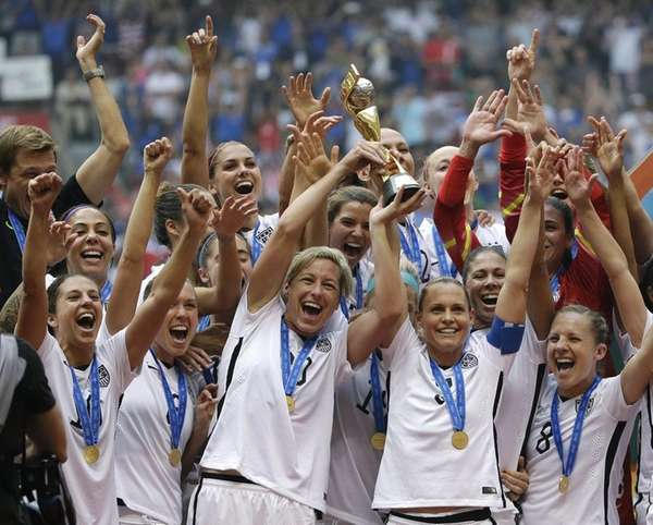 The United States Women's National Team had plenty