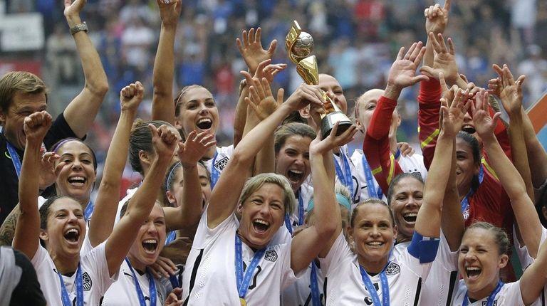 The United States Women's National Team had plenty