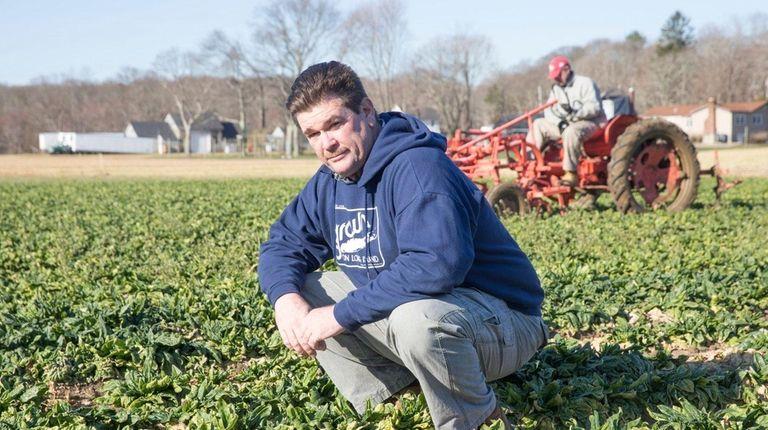 Bob Nolan, owner of Deer Run Farms in