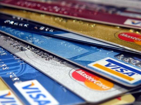 Various credit cards are shown in this image