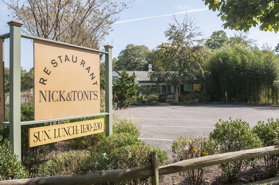 Nick & Toni's, East Hampton (Opened in 1988):