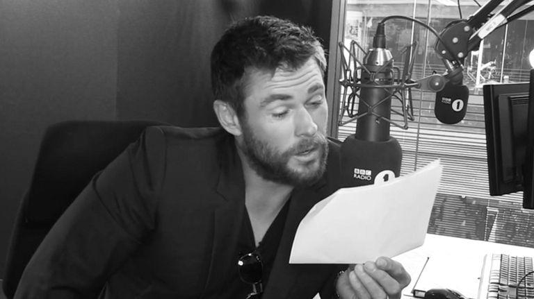 Chris Hemsworth performed a dramatic reading of Rihanna's