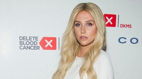 Singer Kesha claims on an Instagram message she