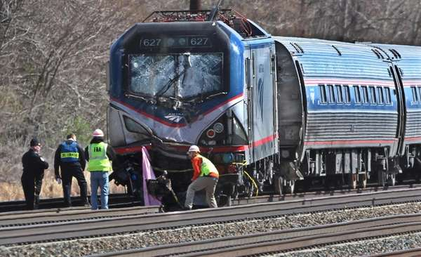 Authorities investigate after a Georgia-bound Amtrak train from