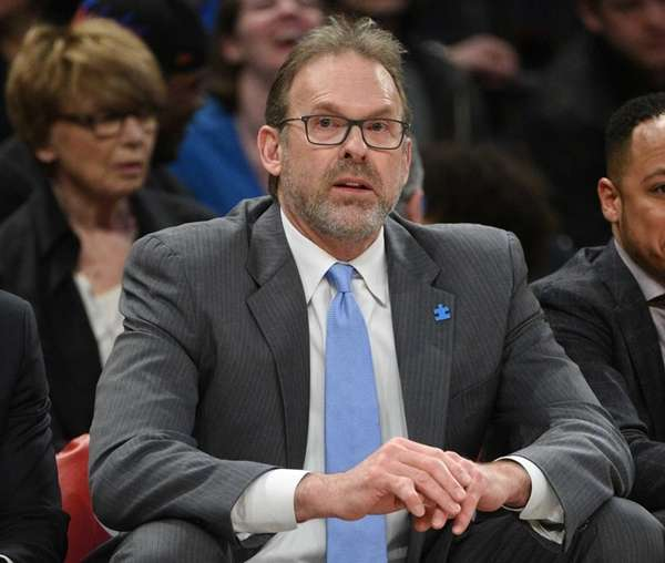 New York Knicks interim head coach Kurt Rambis