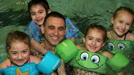Families can splash in the pool at Hofstra