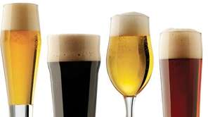Different types of beer merit varying shapes and