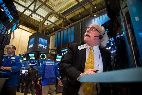 Stocks dipped in early trading Monday, April 4,