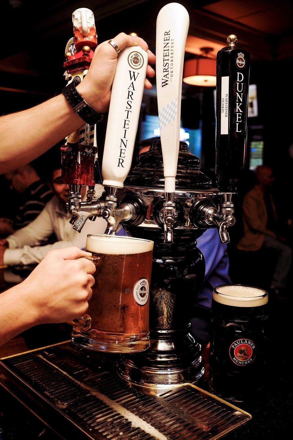 Warsteiner is among the German breweries represented on