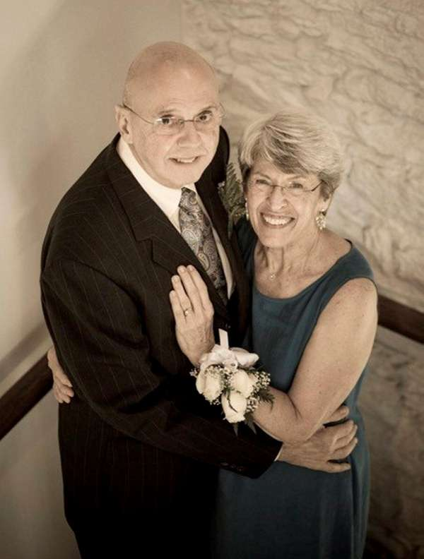 Ralph and Patricia Jeffrey of Massapequa Park at