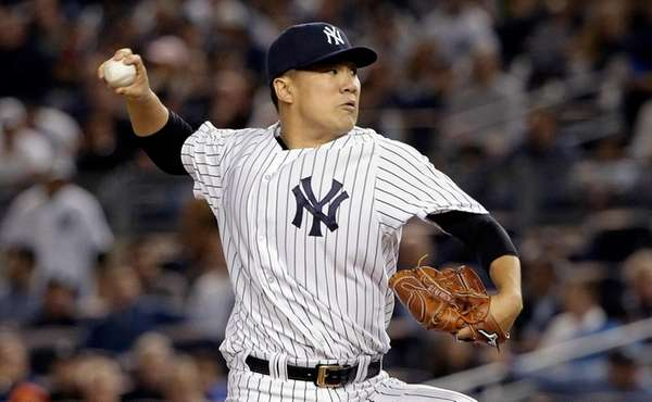 Masahiro Tanaka's start got rained out Monday. He