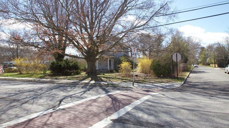 The southwest corner of Lake Avenue and Sixth