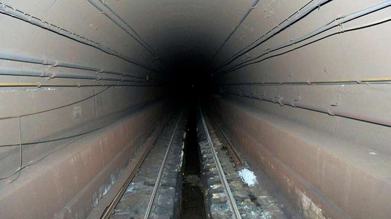 The Canarsie tube shown here on Nov. 7,