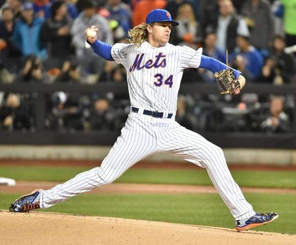 Mets' Noah Syndergaard starts Tuesday against the