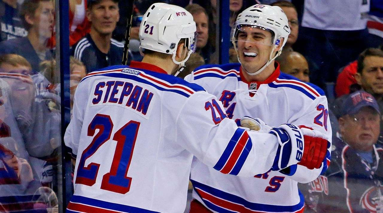 Chris Kreider  of the New York Rangers is