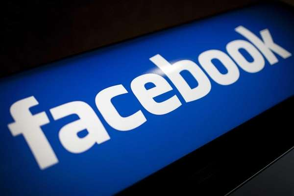 The Facebook Inc. logo is displayed at the