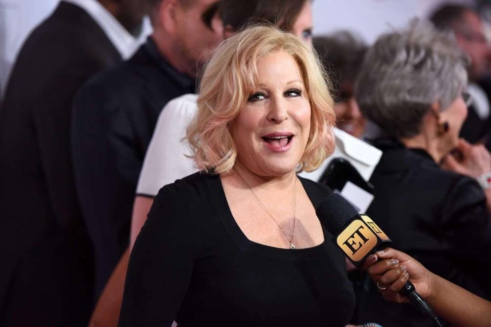 Singer Bette Midler drew attention when she tweeted