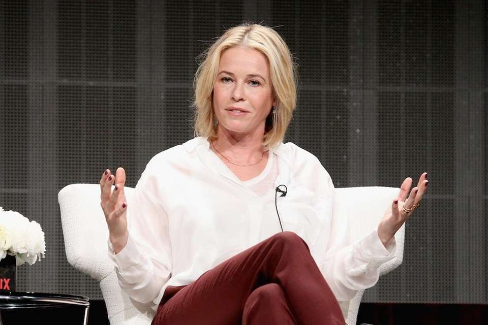 Comedian Chelsea Handler tweeted a picture of herself