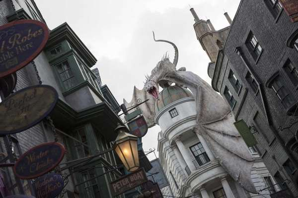 This June 2014 photo released by Universal Orlando