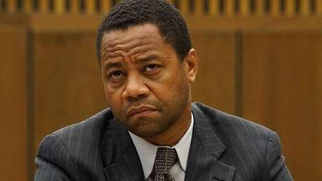 Cuba Gooding Jr. plays O.J. Simpson in