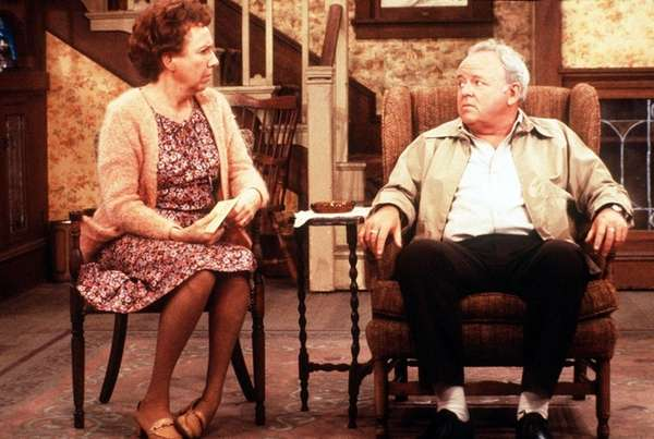 Jean Stapleton, left, and Carroll O'Connor had tax