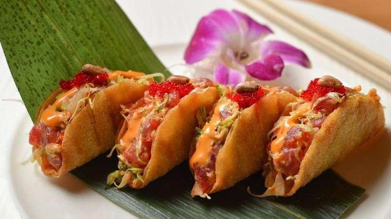 Tuna tacos stand out at Aiko Asian Bistro