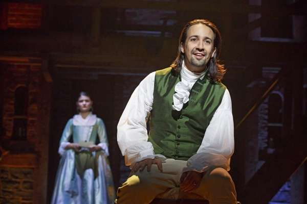 Lin-Manuel Miranda plays Alexander Hamilton in the hit