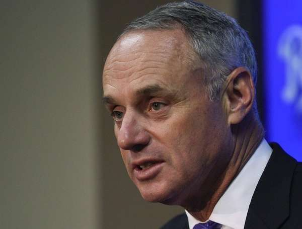Major League Baseball Commissioner Rob Manfred talks