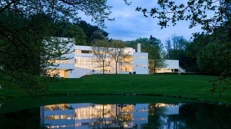This Old Westbury house, designed by famed architect