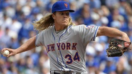epa05245668 New York Mets starting pitcher Noah Syndergaard