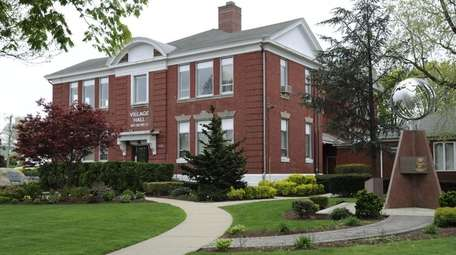 New Hyde Park Village Hall is seen on