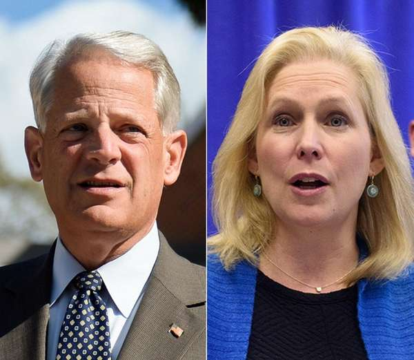 Rep. Steve Israel and Sen. Kirsten Gillibrand are