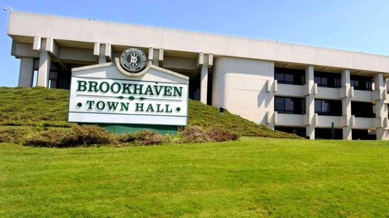Brookhaven Town Hall is pictured in an undated