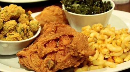 Fried chicken and Southern-inspired sides are on the