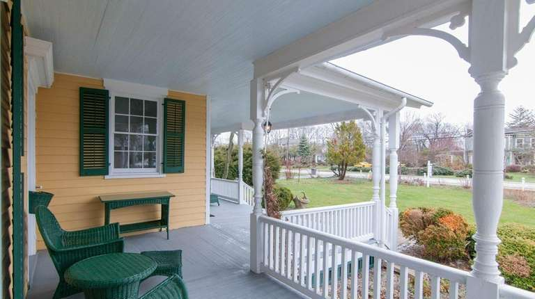 This is part of the wraparound porch and