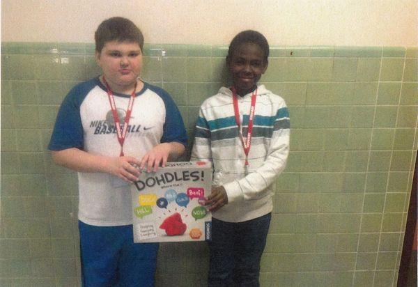 Kidsday reporters Anthony Iacobelli-Rogers and Omari Jennings say