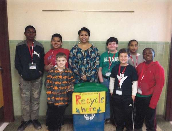 Recycling coordinator Danielle Wynn visited Kidsday reporters at