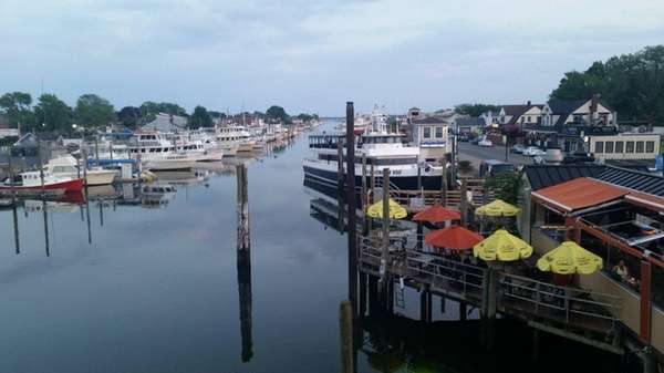 Water view of Prime 23 Steaks & Seafood