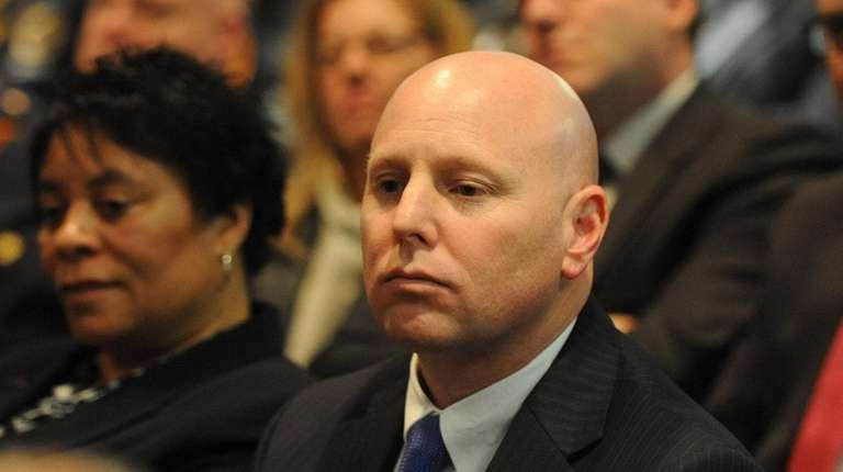 First Deputy Commissioner John Barry is seen at