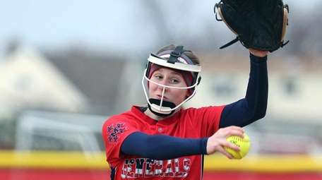 MacArthur's Jessica Budrewicz on the hill during the
