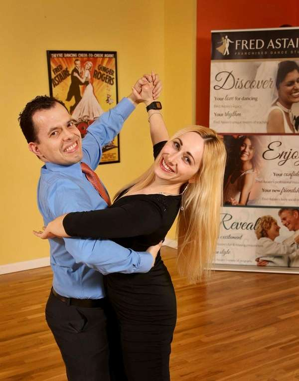 Jose and Marina Palacios at the Fred Astaire